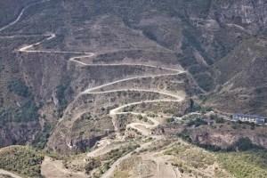 Zum Kloster Tatew, Armenien