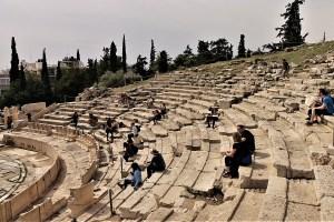 Dionysos Theater Athen, Griechenland