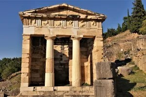 Treasury of the Athenians in Delphi
