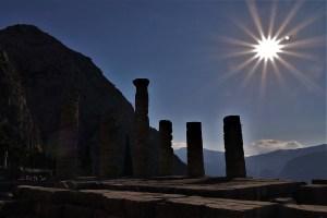 Apollo Tempel Delphi