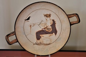 Museum in Delphi, Griechenland