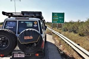 Autobahn nach Athen