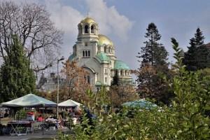 Aleksandar Newski Kathedrale Sofia, Bulgarien