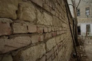Remains of the walls of the Budapest ghetto 1944/45