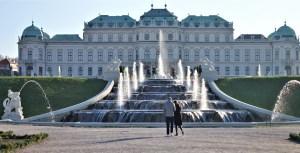 Schloss Belvedere Wien, Österreich