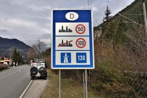 Grenze Österreich - Deutschland