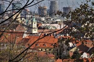 Blick auf die Altstadt von Bratislava