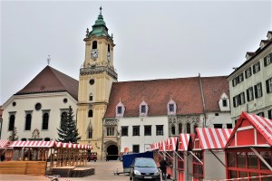 Altes Rathaus in Bratislava, Slowakei