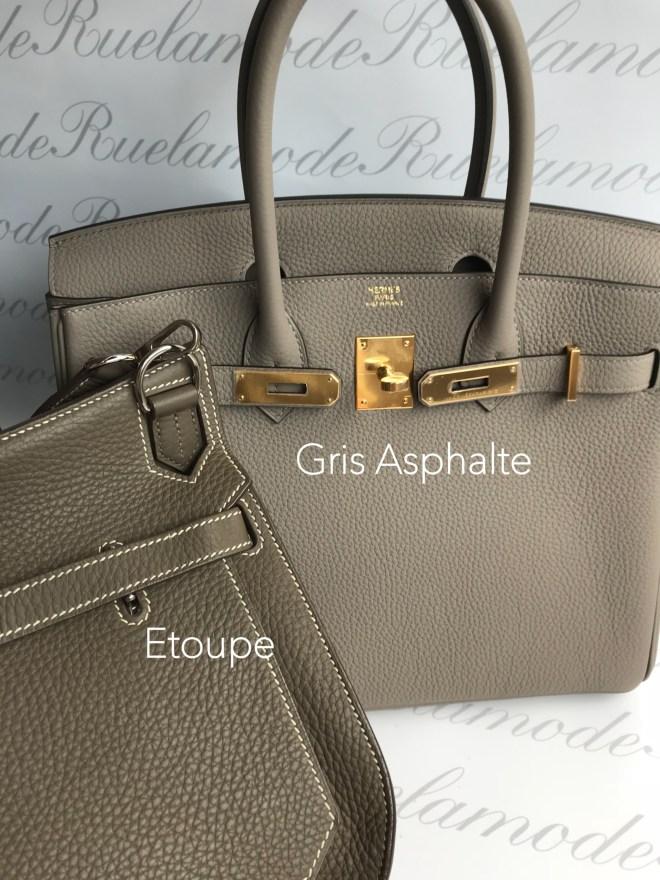 Gris asphalte and Etoupe