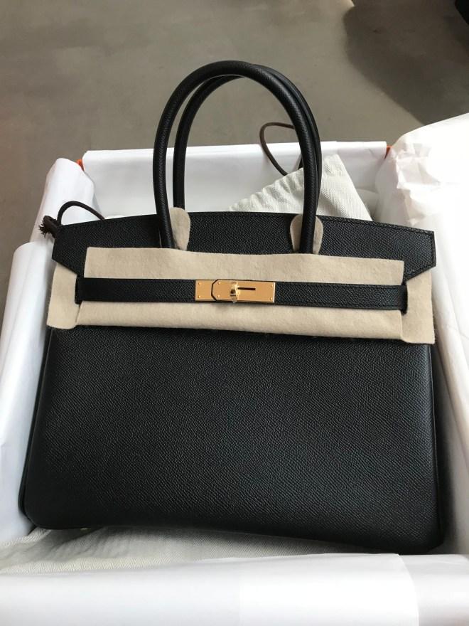 aad3b489658 Brand new Hermes Birkin 30 Black Epsom GHW SOLD – Ruelamode
