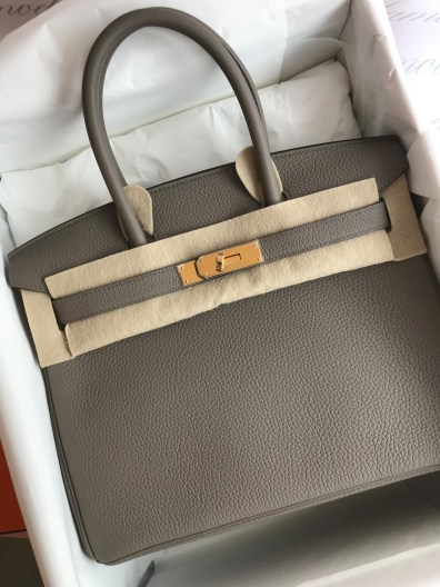 98379fb860 Brand new Hermes Birkin 30 Gris Asphalte Togo GHW SOLD