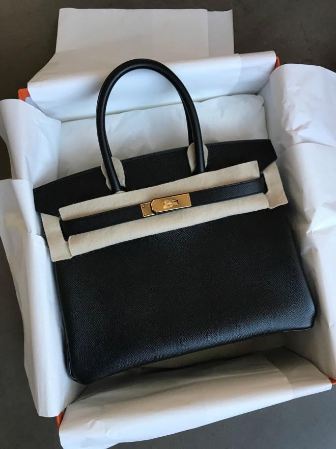 d4595e86953 Brand New Hermes Birkin 30 Black Epsom GHW – Ruelamode