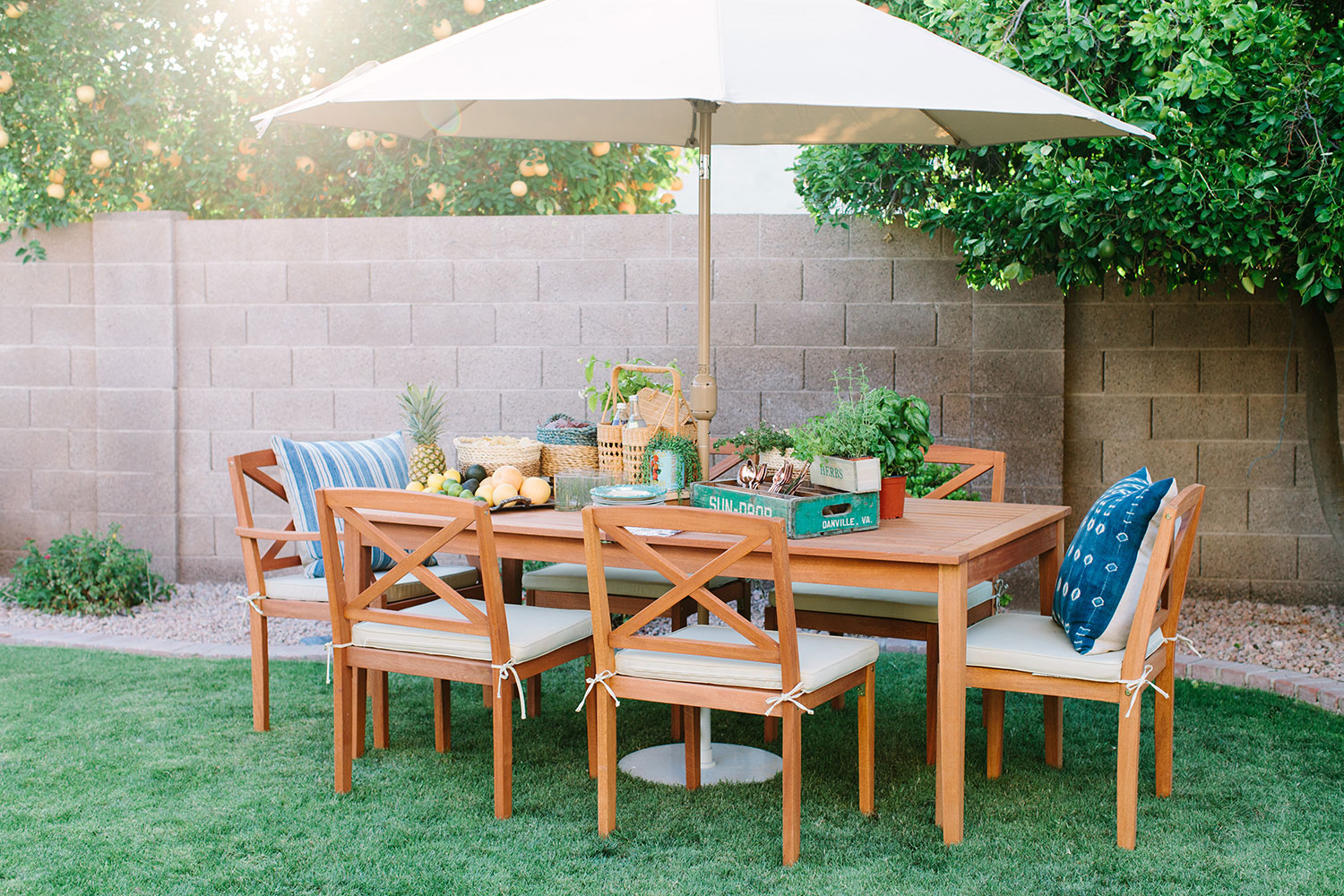 outdoor summer celebrations with