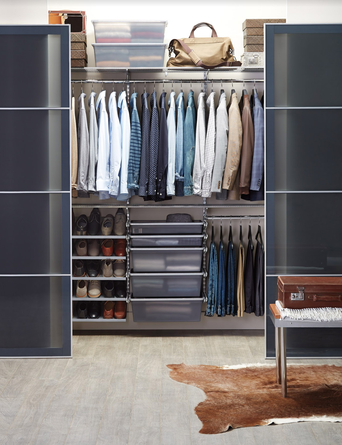The Container Store S Custom Closet Solutions Are A Game