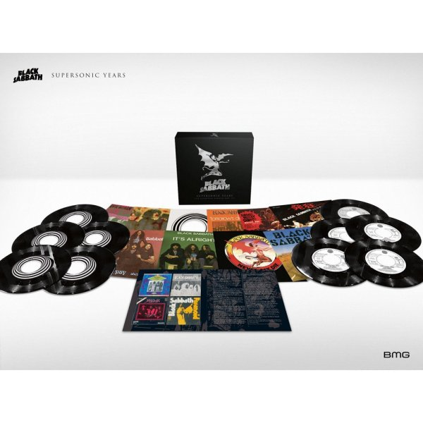 Black Sabbath: Supersonic Years - The Seventies Singles Box Set