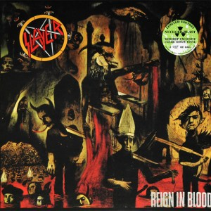 Slayer: Reign In Blood (Clear Vinyl)