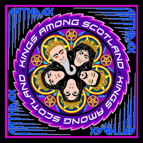Anthrax: Kings Among Scotland (3xLP)