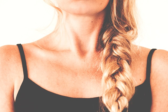 שיער אסוף