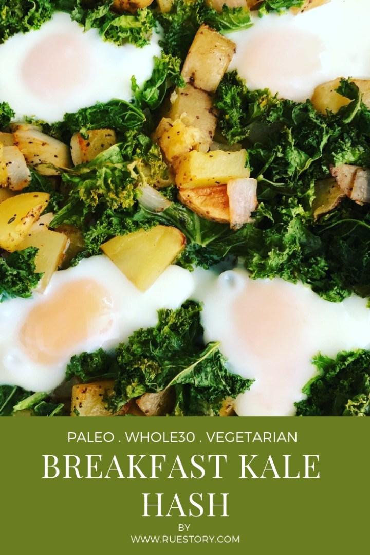 Roasted Potato & Kale Hash