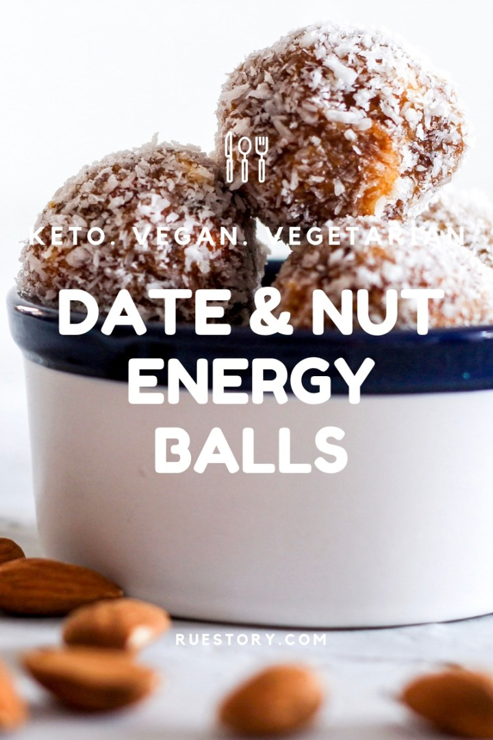 Easy Date & Nut Energy Balls
