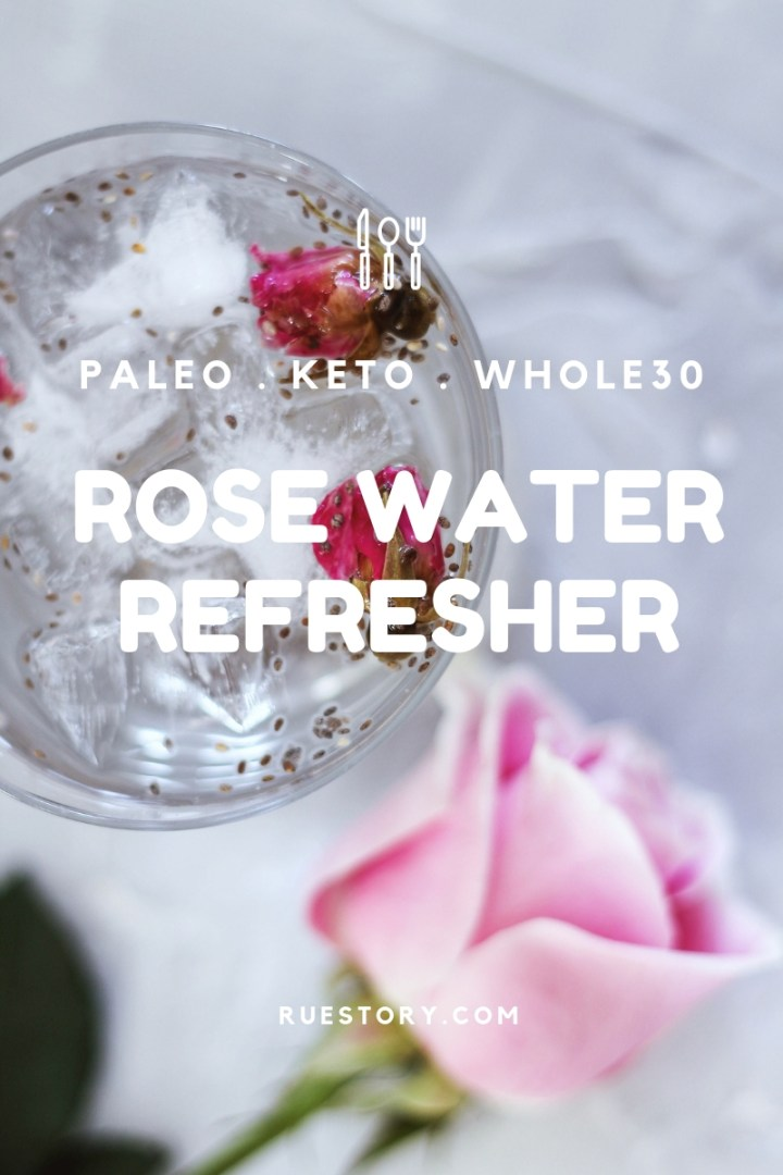 Rose Water Refresher