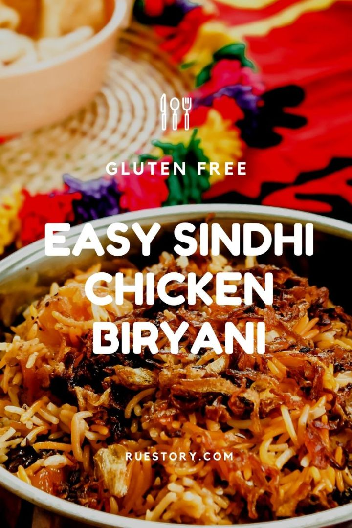 Mom's Easy Sindhi Chicken Biryani