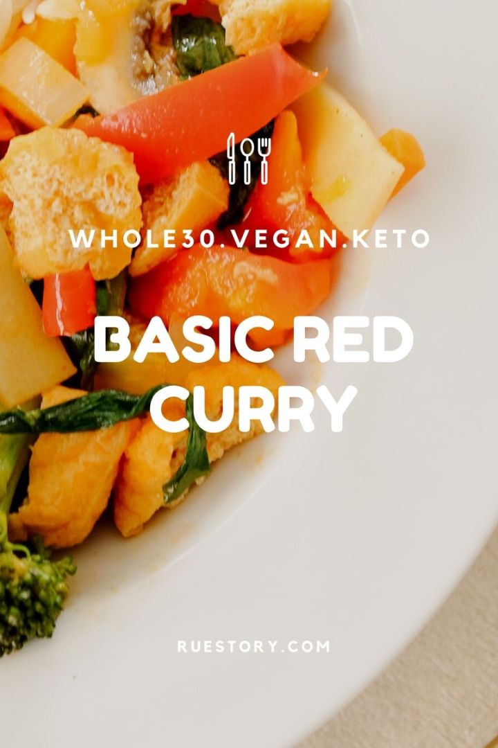 Basic Thai Red Curry