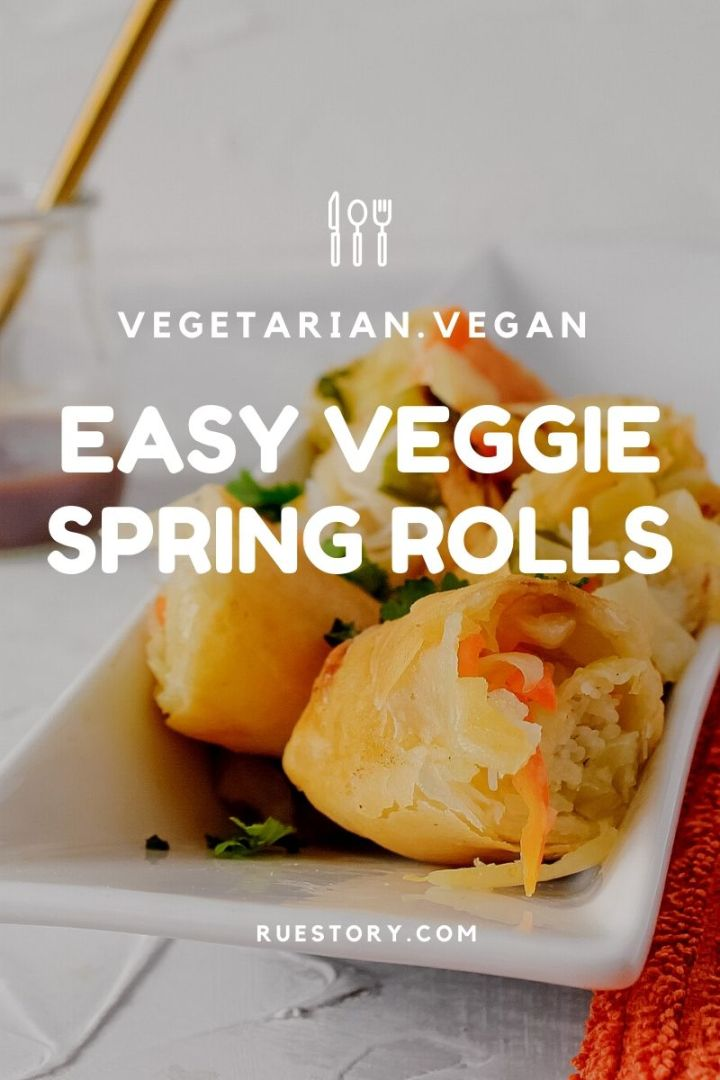 Crispy Veggie Spring Rolls