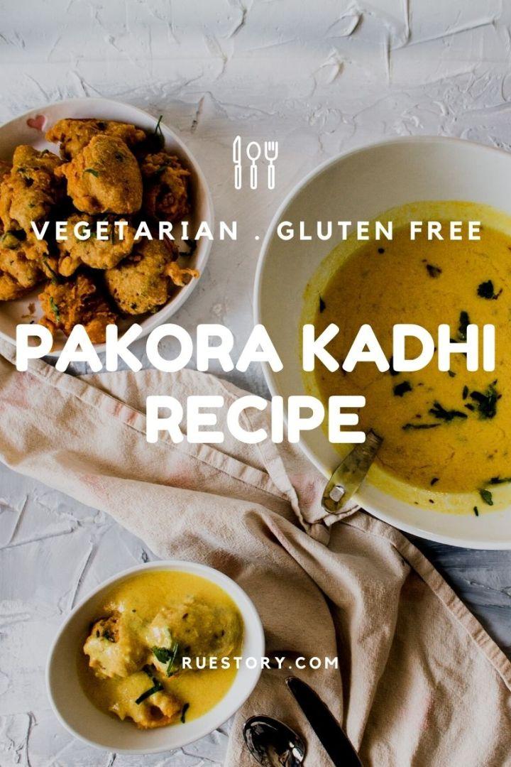 Pakora Kadhi (GF, Vegetarian)