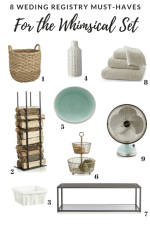 Wedding Registry Essentials From Crate and Barrel By Personality Type