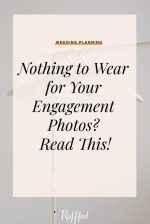 5 Tips For What to Wear for Your Engagement Photos