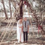 Whimsical Forest Wedding With A Bit Of Rebellion Ruffled