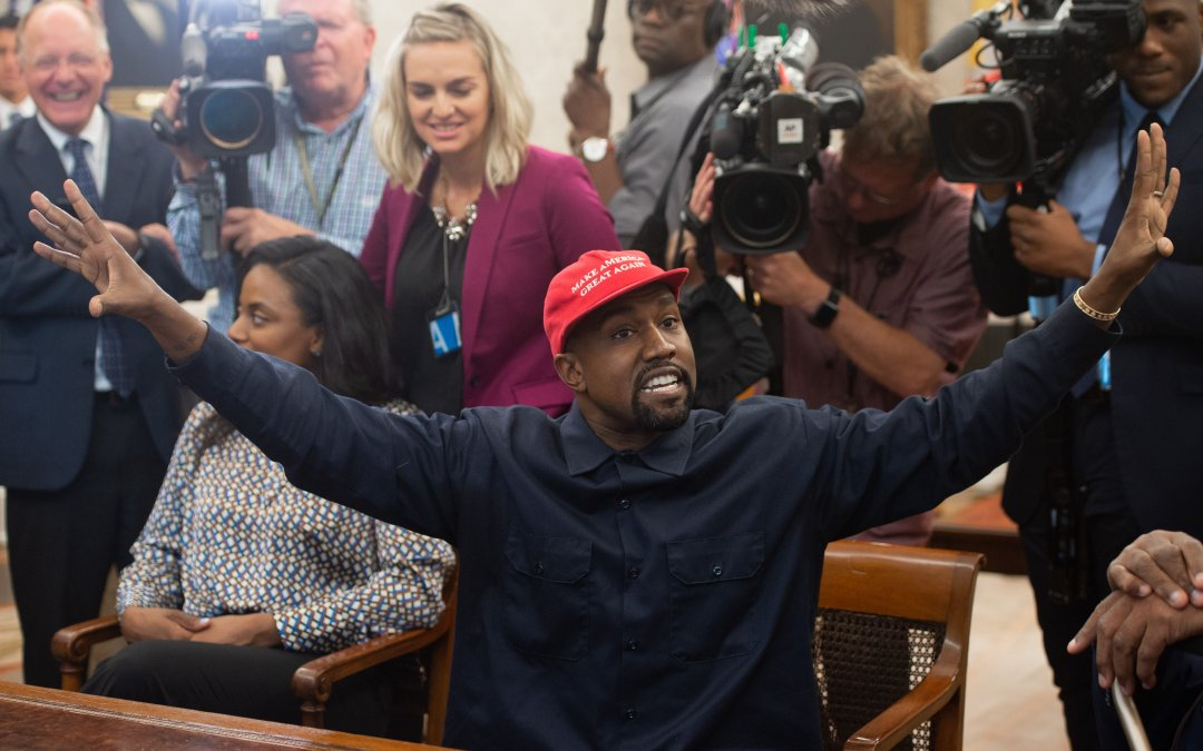 Kanye West Is Back On The Trump Train