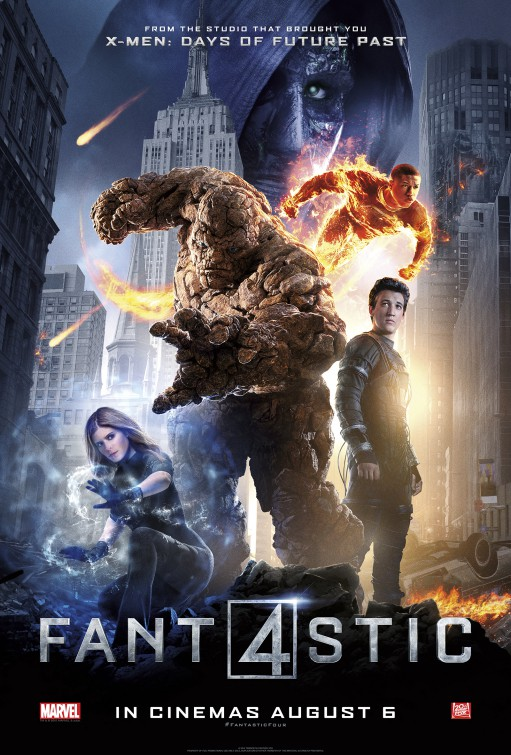 The Rufus Project Redeeming Features Cast: Fantastic Four (2015)