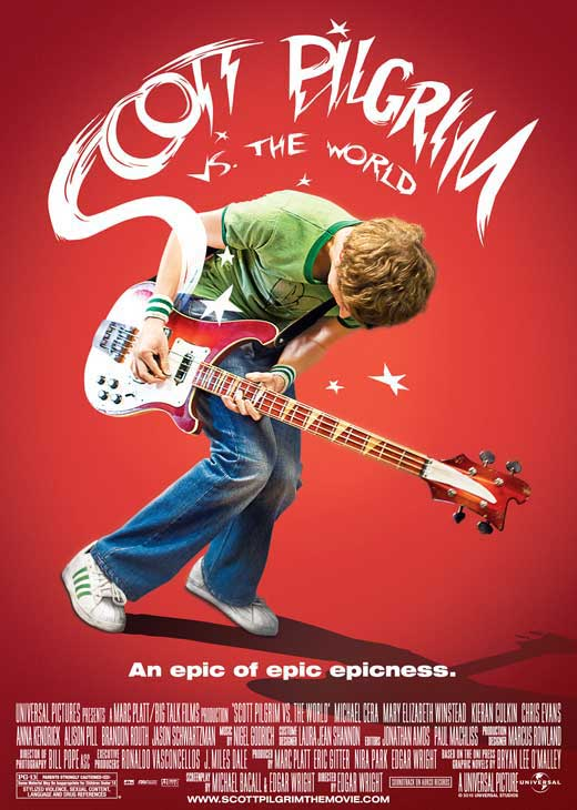 The Rufus Project Redeeming Features Cast: Scott Pilgrim vs the World (2010)