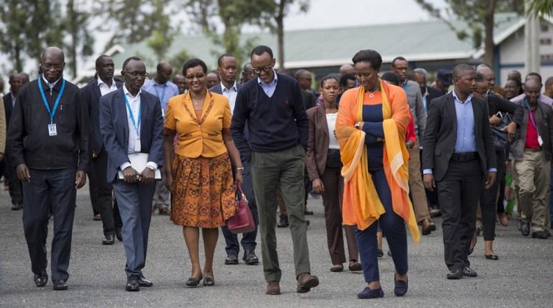 Byari kudushimisha iyo Ngirente na leta ye bashyira Victoire Ingabire mu mwanya Paul Kagame arimo!!