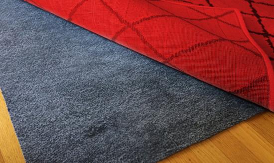 rug-underlay padding oriental rug carpet clinic