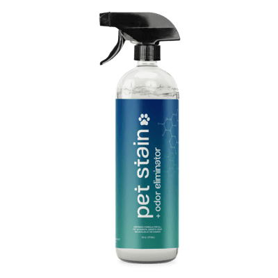 The Stain Lifter pet stain odor eliminator bottle