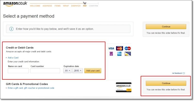 amazonukアマゾンイギリス買い物方法9