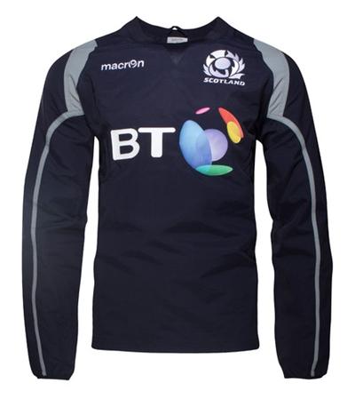 Scotland 2016/17 Players Contact Rugby Training Top_ラグビー_マクロン_アイルランドレプリカ_ピステ_個人輸入_海外通販_海外モデル