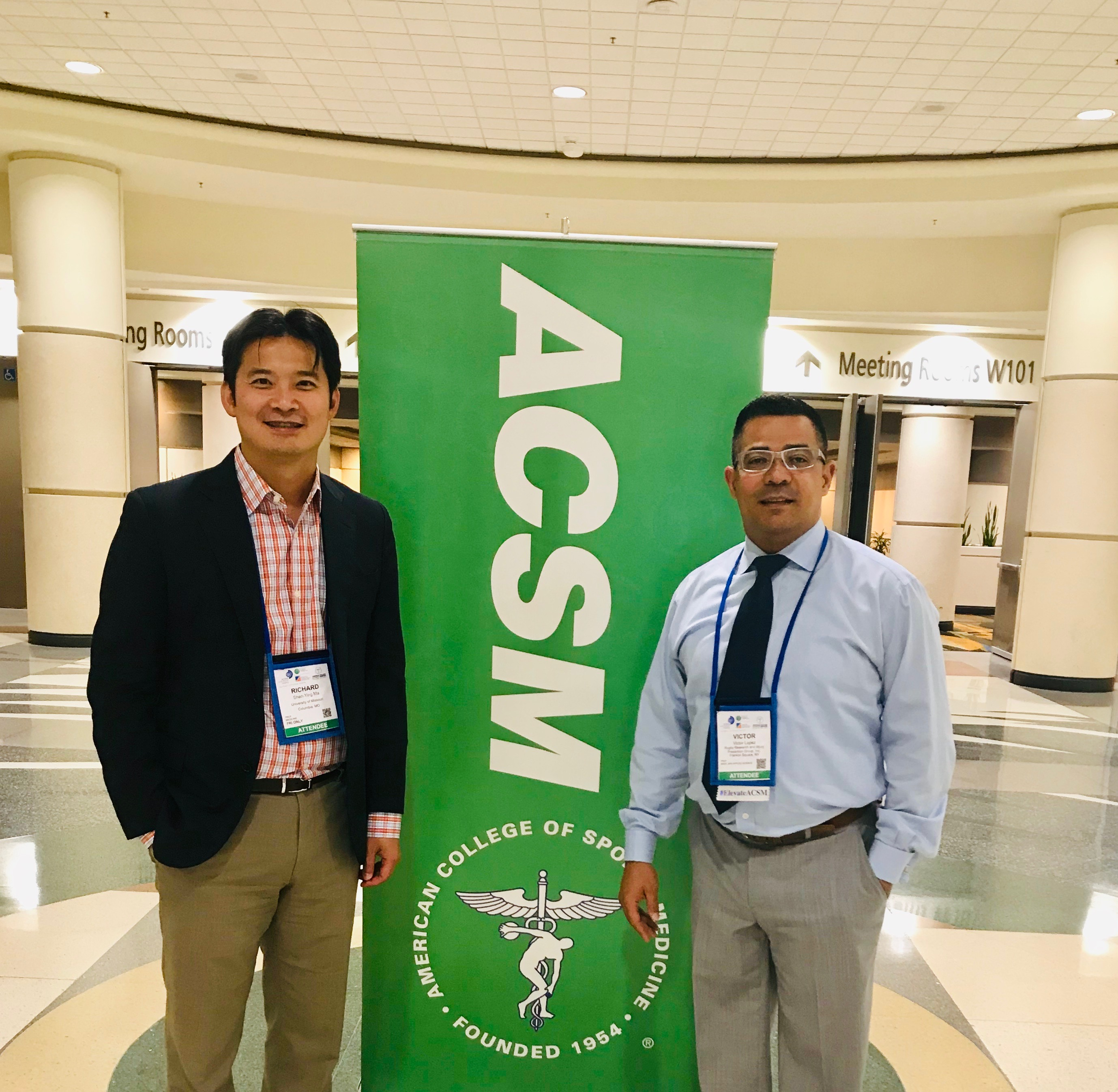 2019 ACSM Annual Meeting, World Congress on Exercise is