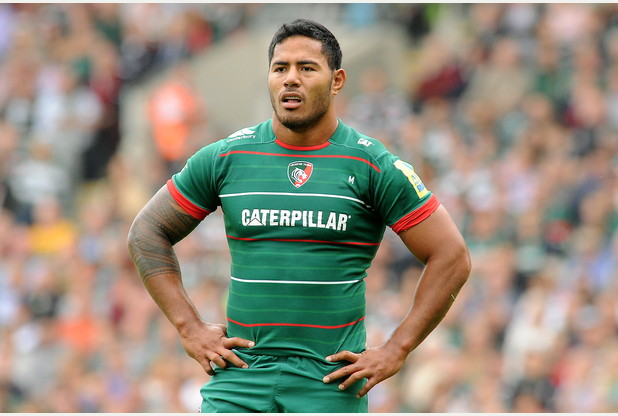 PICTURE ALEX HANNAM - Leicester Tigers v v Newcastle Falcons - Manu Tuilagi - STORY MARTIN CROWSON