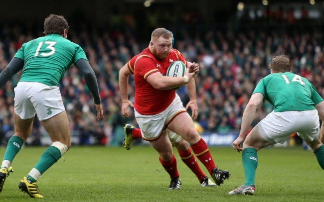 Ireland v Wales - RBS 6 Nations 2016, Britain - 7 Feb 2016