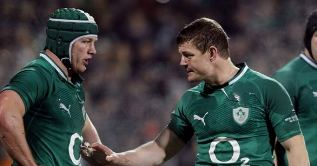 Sean O'Brien Recalls Brilliant Tale About The Time Brian O'Driscoll Stood Up For Him
