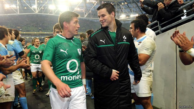 Dan Carter Answers The Question: Ronan O'Gara Or Johnny Sexton?