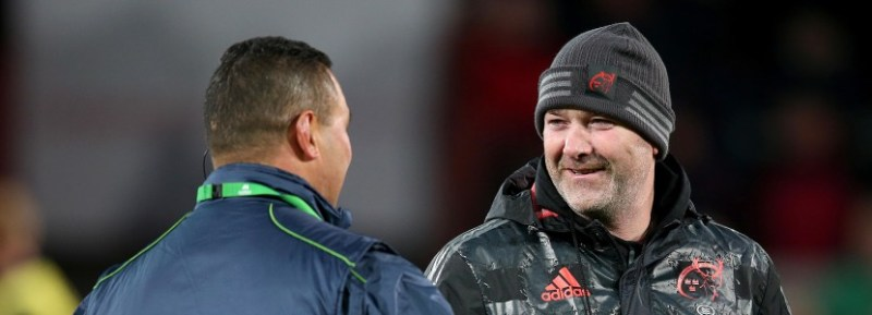 Anthony Foley and Pat Lam 28/11/2015