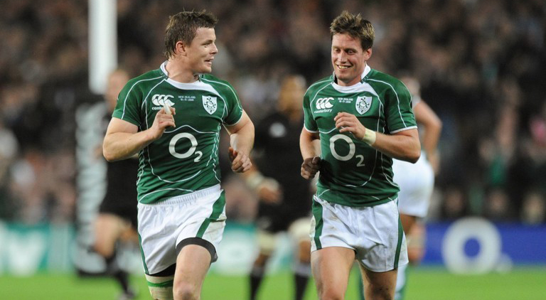 Brian O'Driscoll & Ronan O'Gara Trade Insults In Absolutely Brilliant Slagging Match