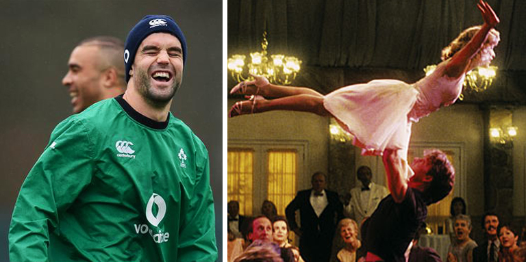 Sean O'Brien & Conor Murray Shared A Beautiful Dirty Dancing Moment In Training Today