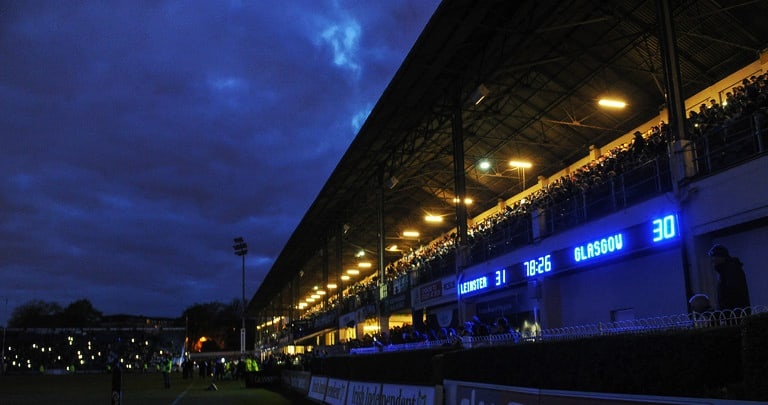 Here's Why The Floodlights Went Out At The RDS Last Night During Leinster Vs Glasgow