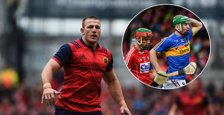 Munster's Jean Deysel On Going To See His First Game Of Hurling